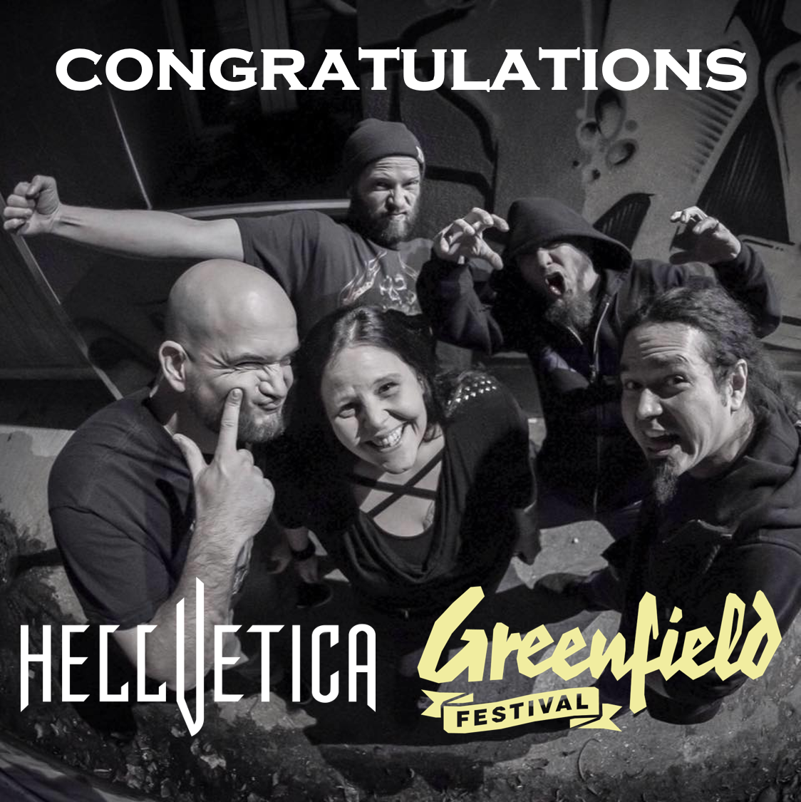 HELLVETICA @ Greenfield Festival