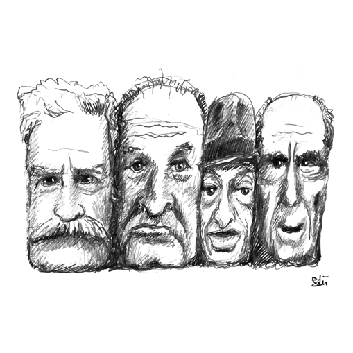 Twain, Nabokov, Bellow, Roth