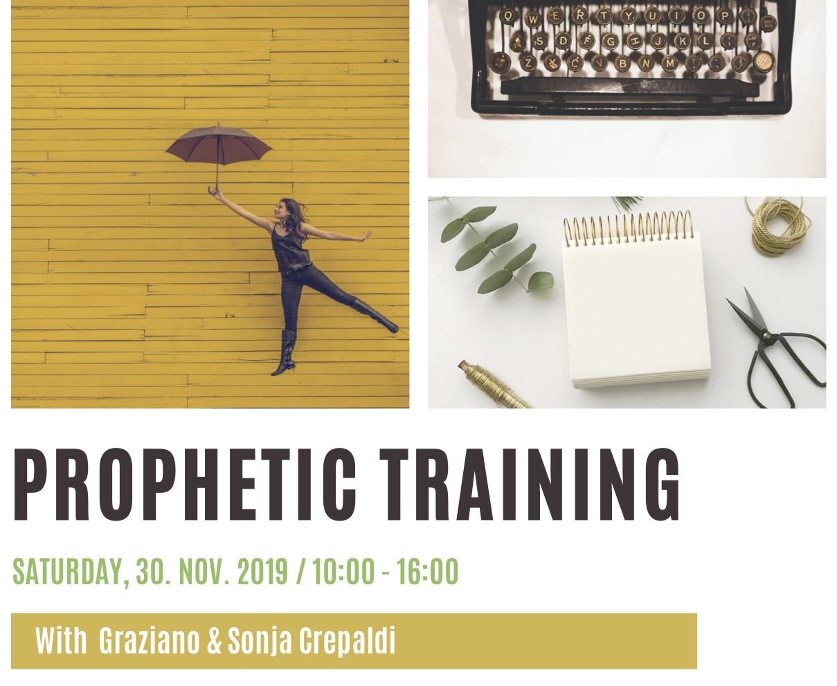 PROPHETIC TRAINING (30. November 2019)