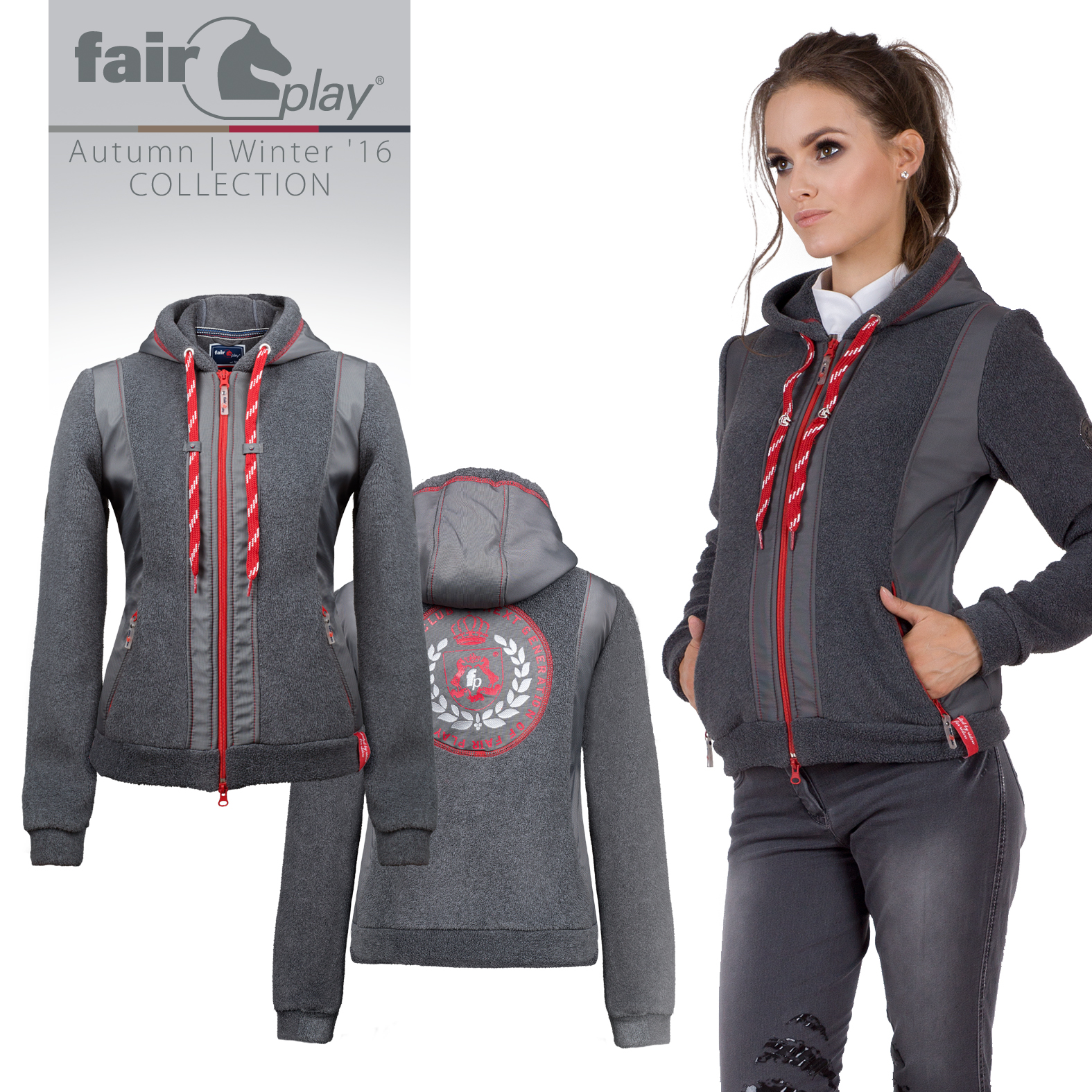 Fairplay Fleecejacke Martina