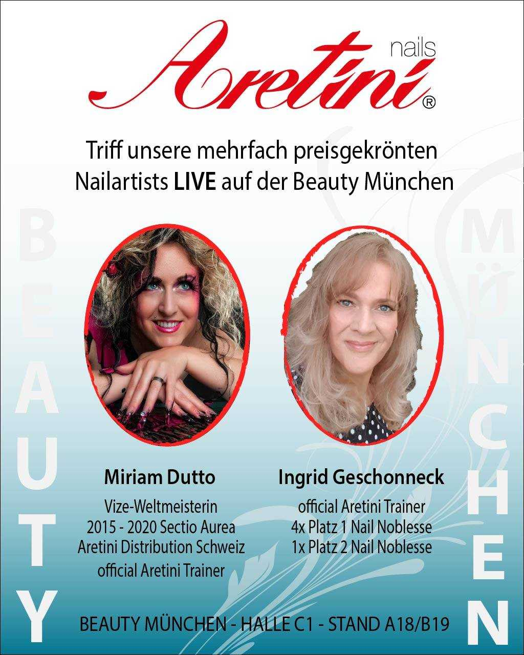 Live an der Beauty Messe in München