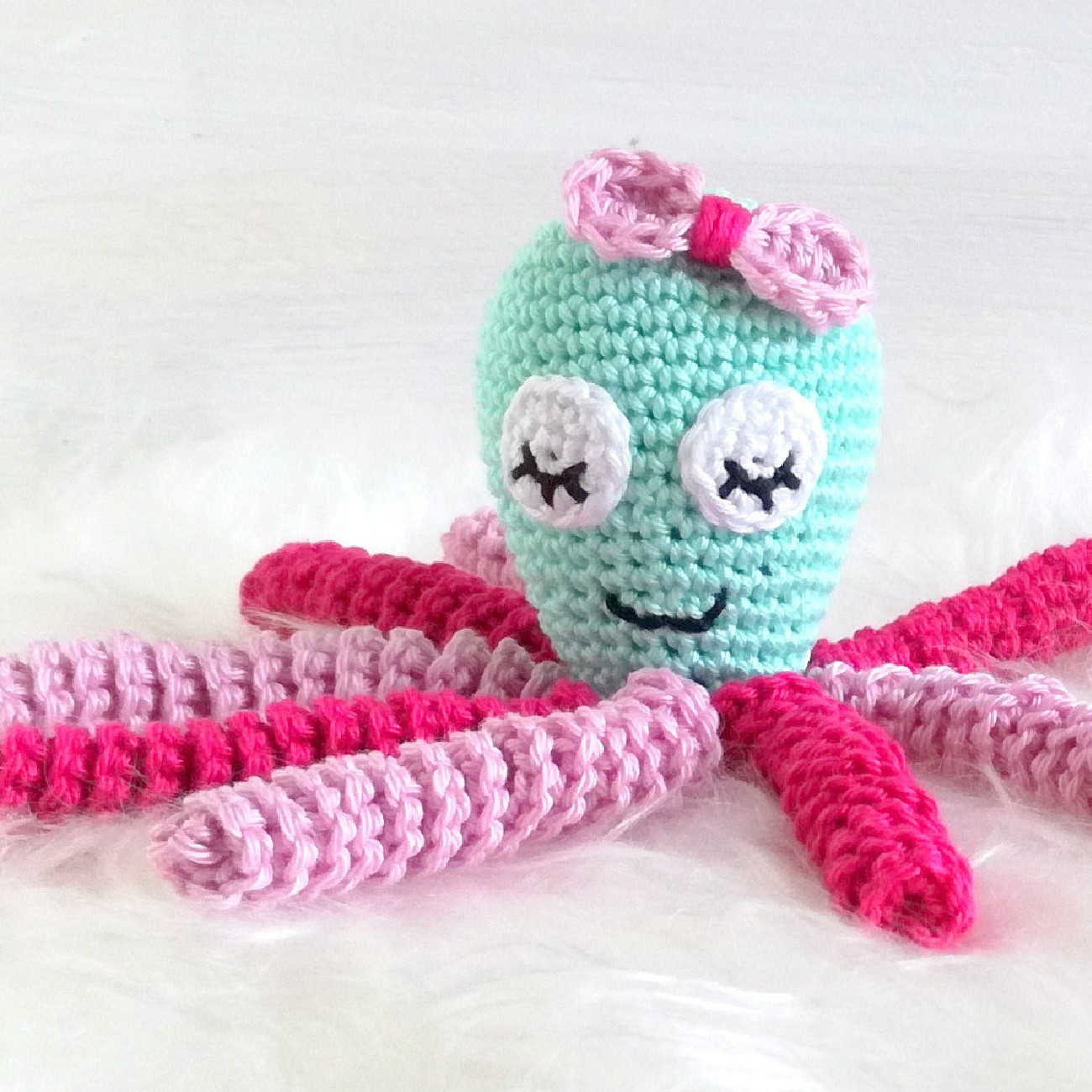 Octopus Häkeln Küche Und Haushalt