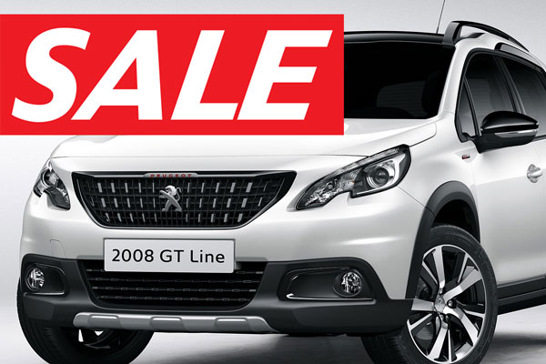 SALE Aktionsangebote Peugeot