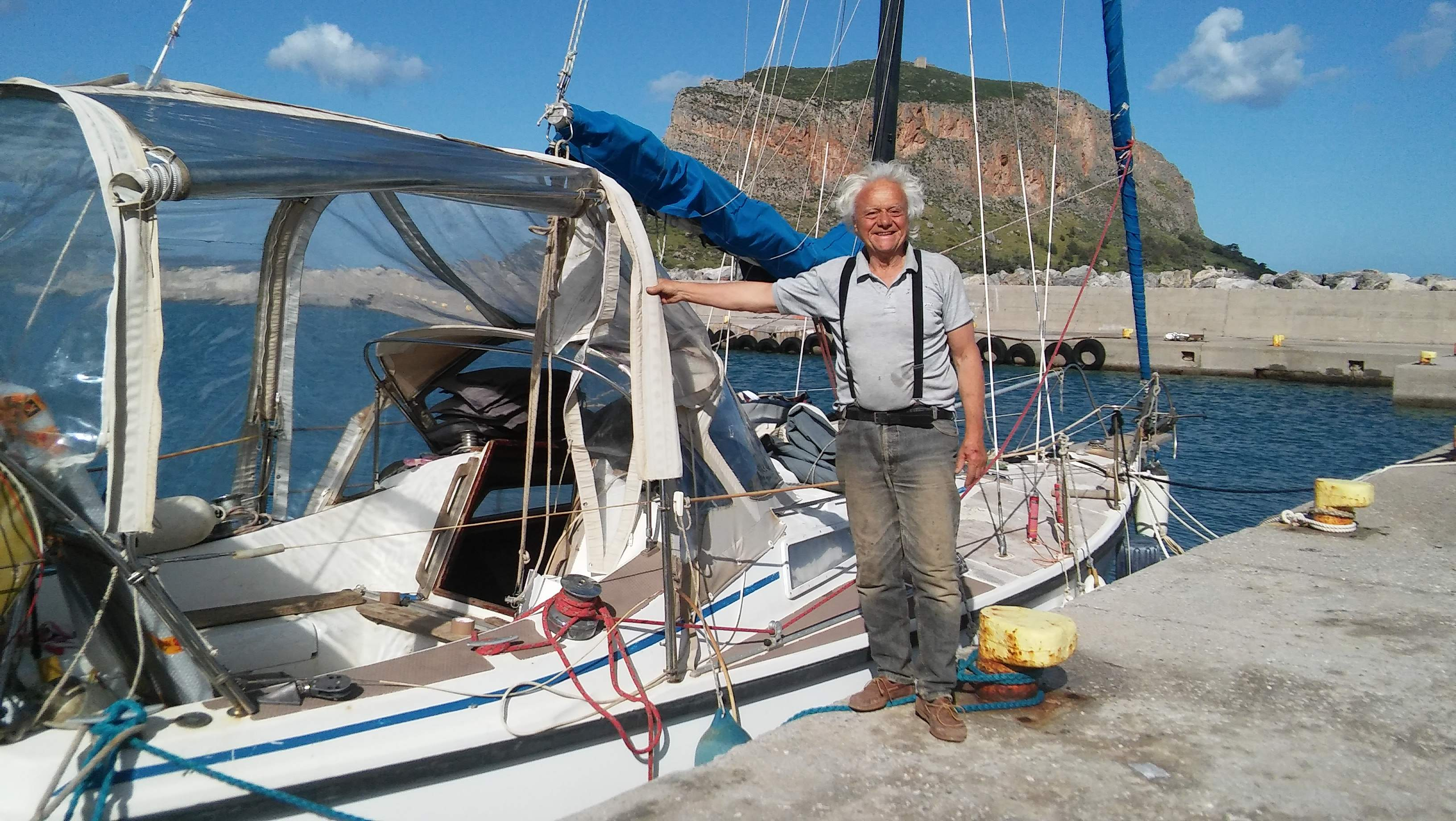 MARCH 23 TO 27 LOADING THE OLIVE OIL AND SAILING TO ITEA