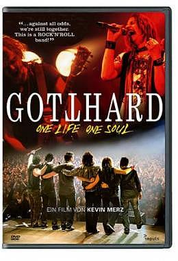 GOTTHARD DVD One Life, One Soul