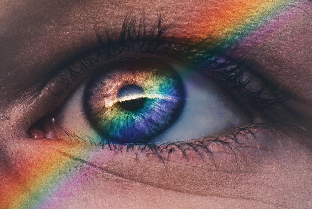 Die seltenste Augenfarbe der Welt