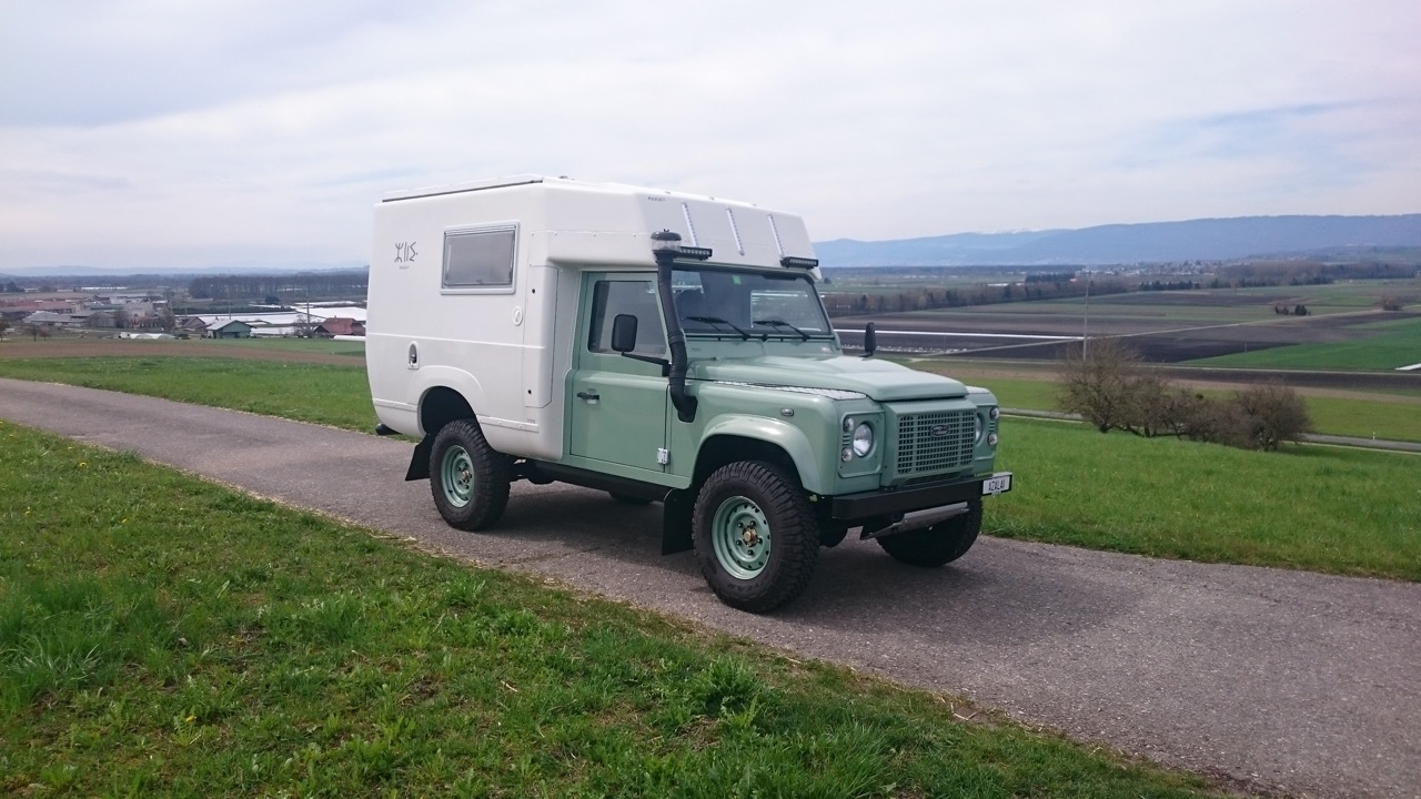 stahl land rover