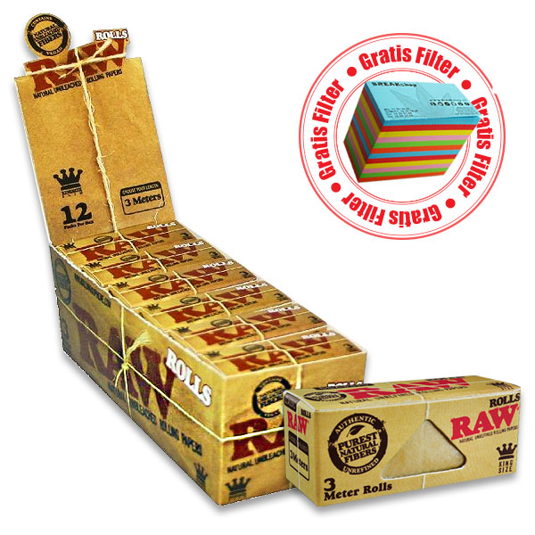 Raw Natural KingSize Roll