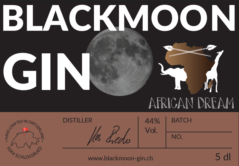 Blackmoon Gin African Dream