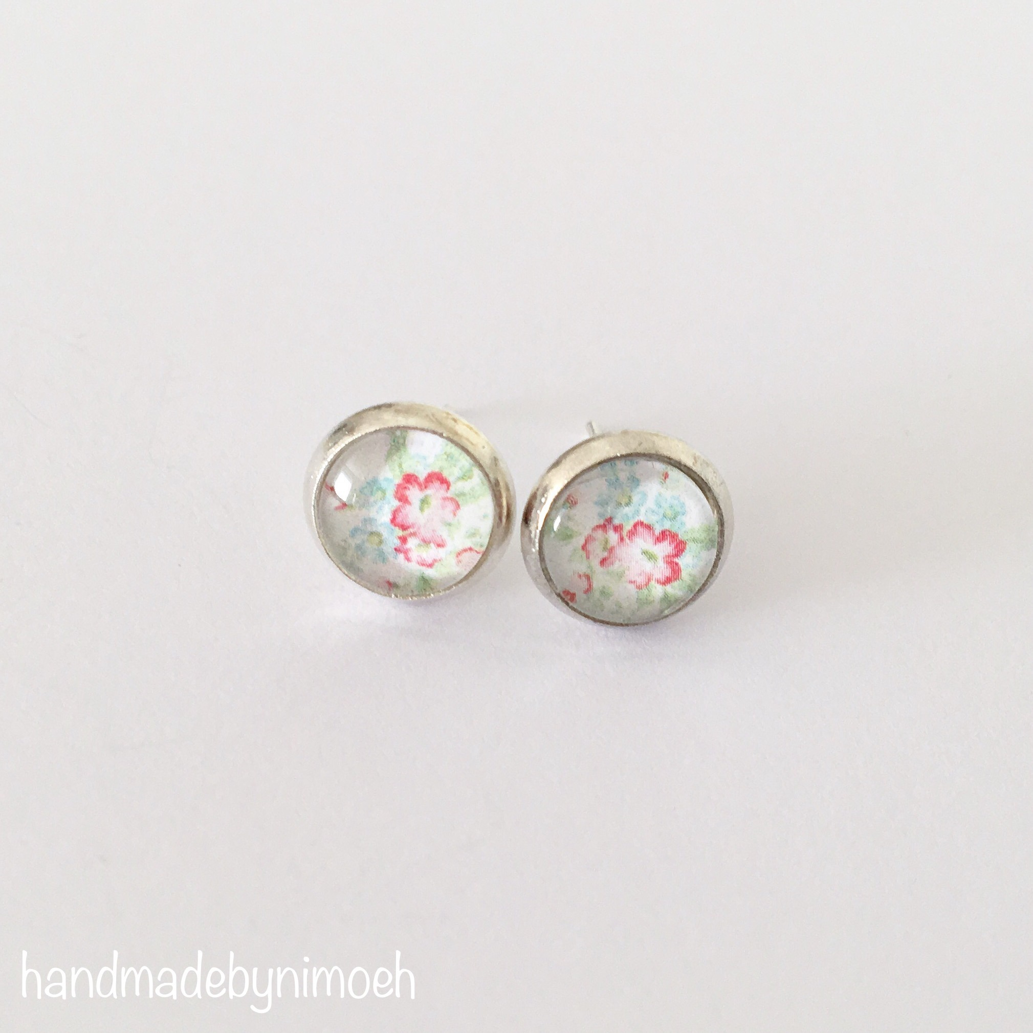 Ohrstecker 8mm Cabochon