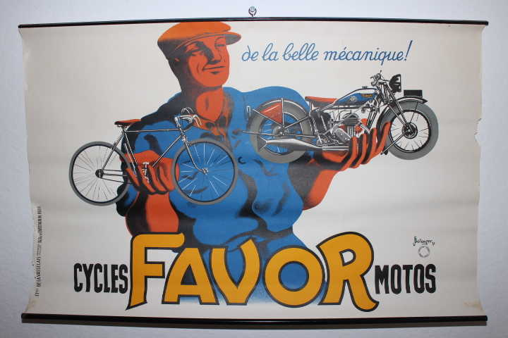 Favor Motos Plakat, klein