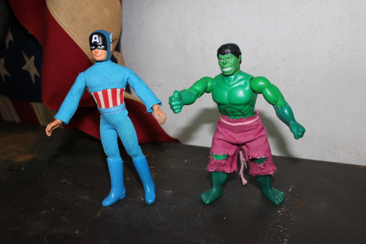 Mego Actionfigur Captain America