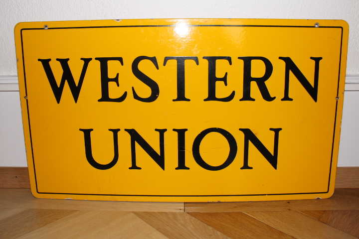 Western Union Emailschild