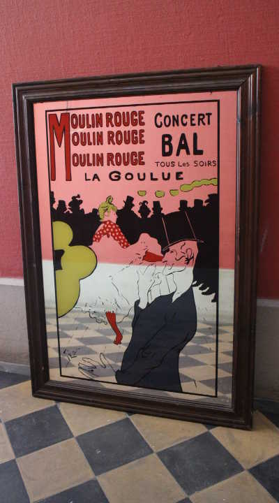 Moulin Rouge Spiegel
