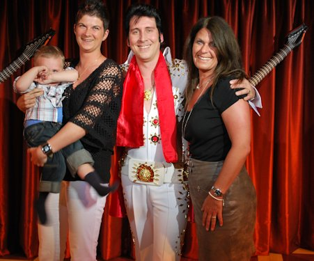Elvis Imitator Tommy King, Elvis Show Switzerland