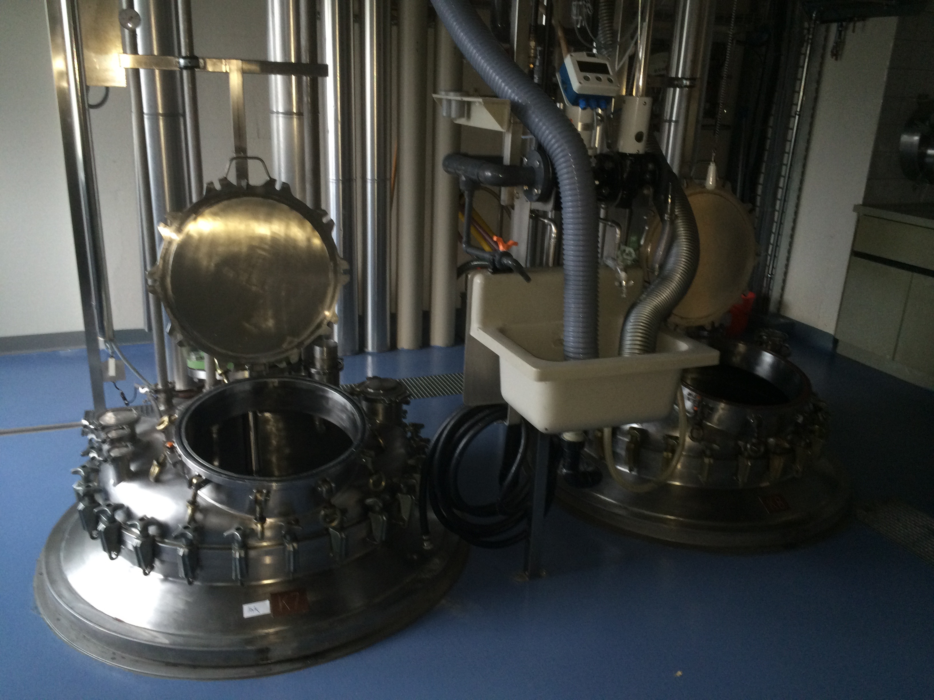double batch vessels (3000L)