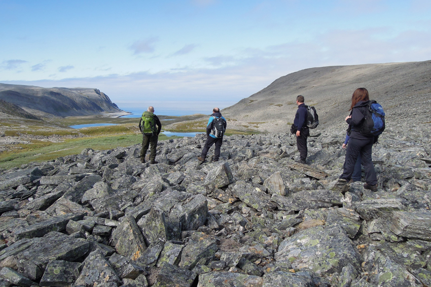 Hiking on Nordkyn