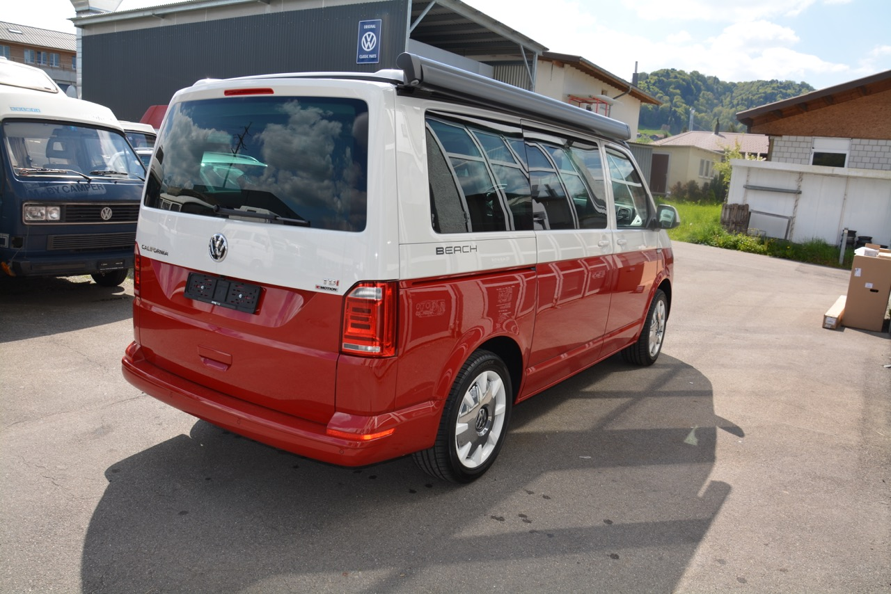 vw t6 california 2 0 tdi beach lberty 4motion dsg bus