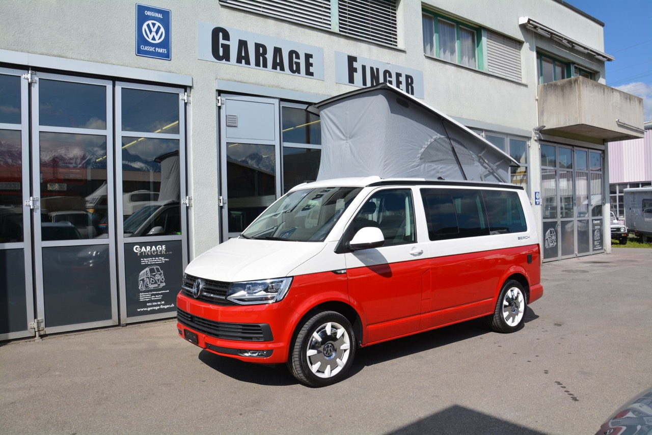 vw t6 california 2 0 tdi beach lberty 4motion dsg bus. Black Bedroom Furniture Sets. Home Design Ideas