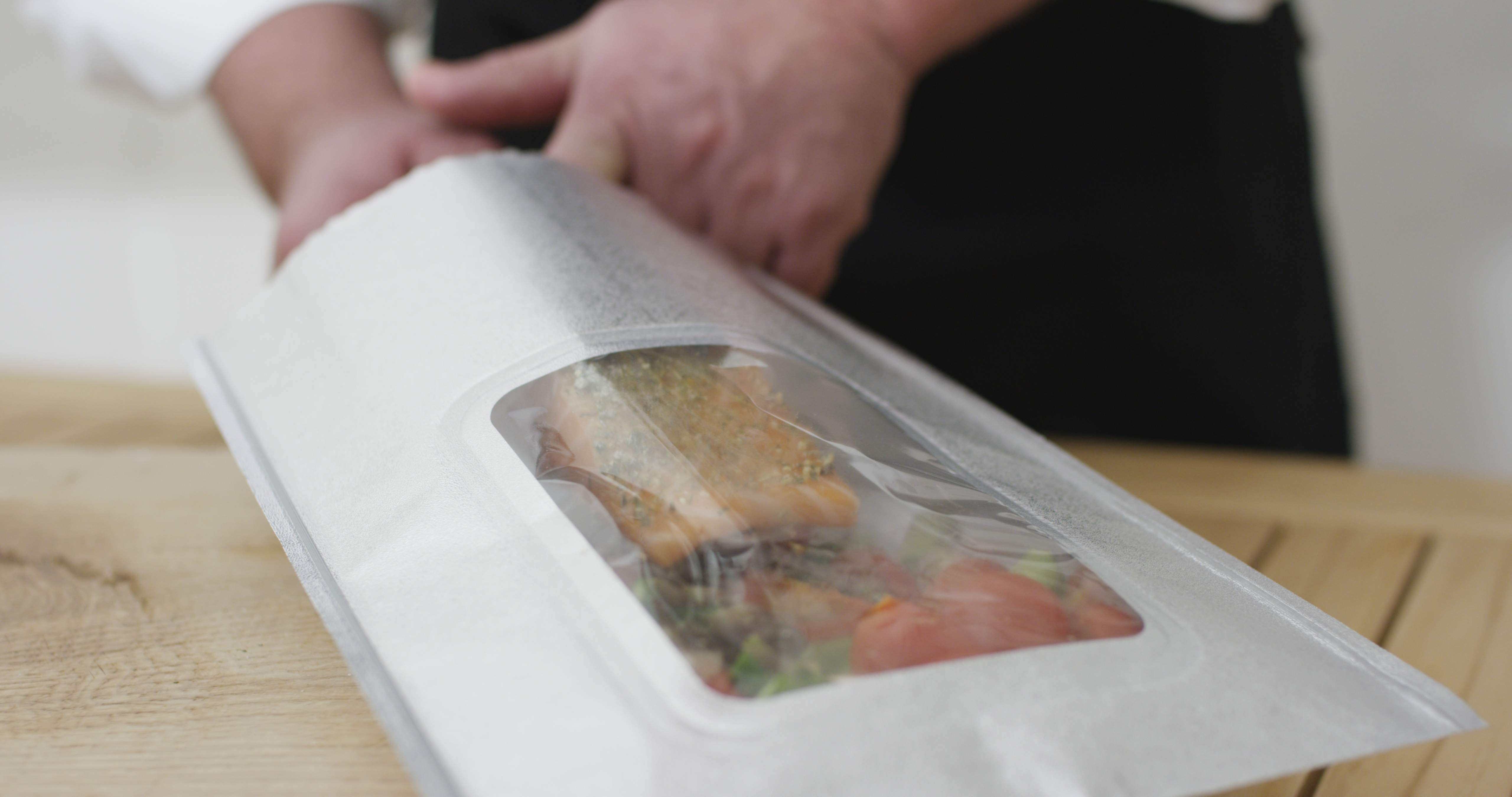 Lachs in Grillbag