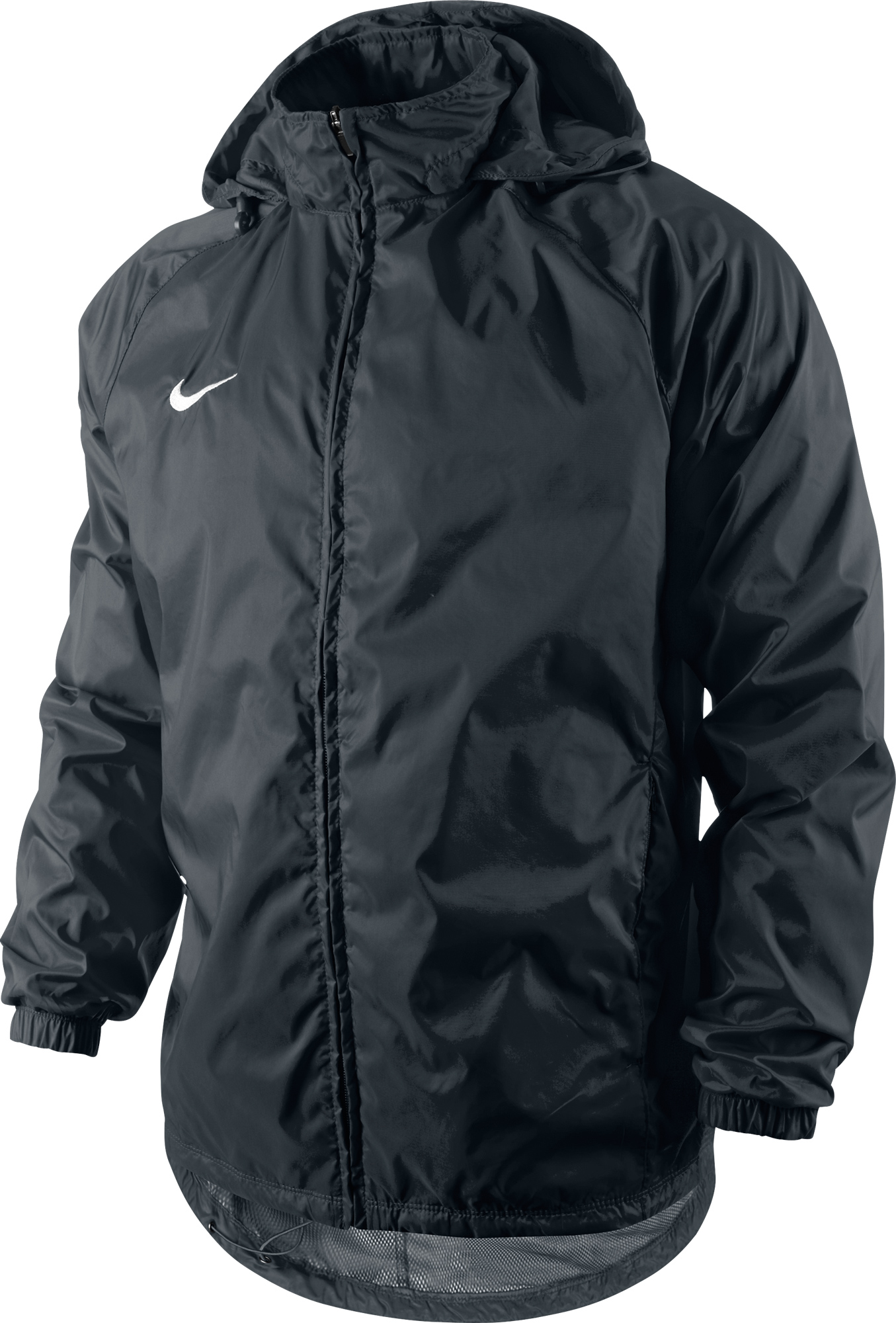 Nike - Team Sideline Rain Jacket 010 Black/ (White)