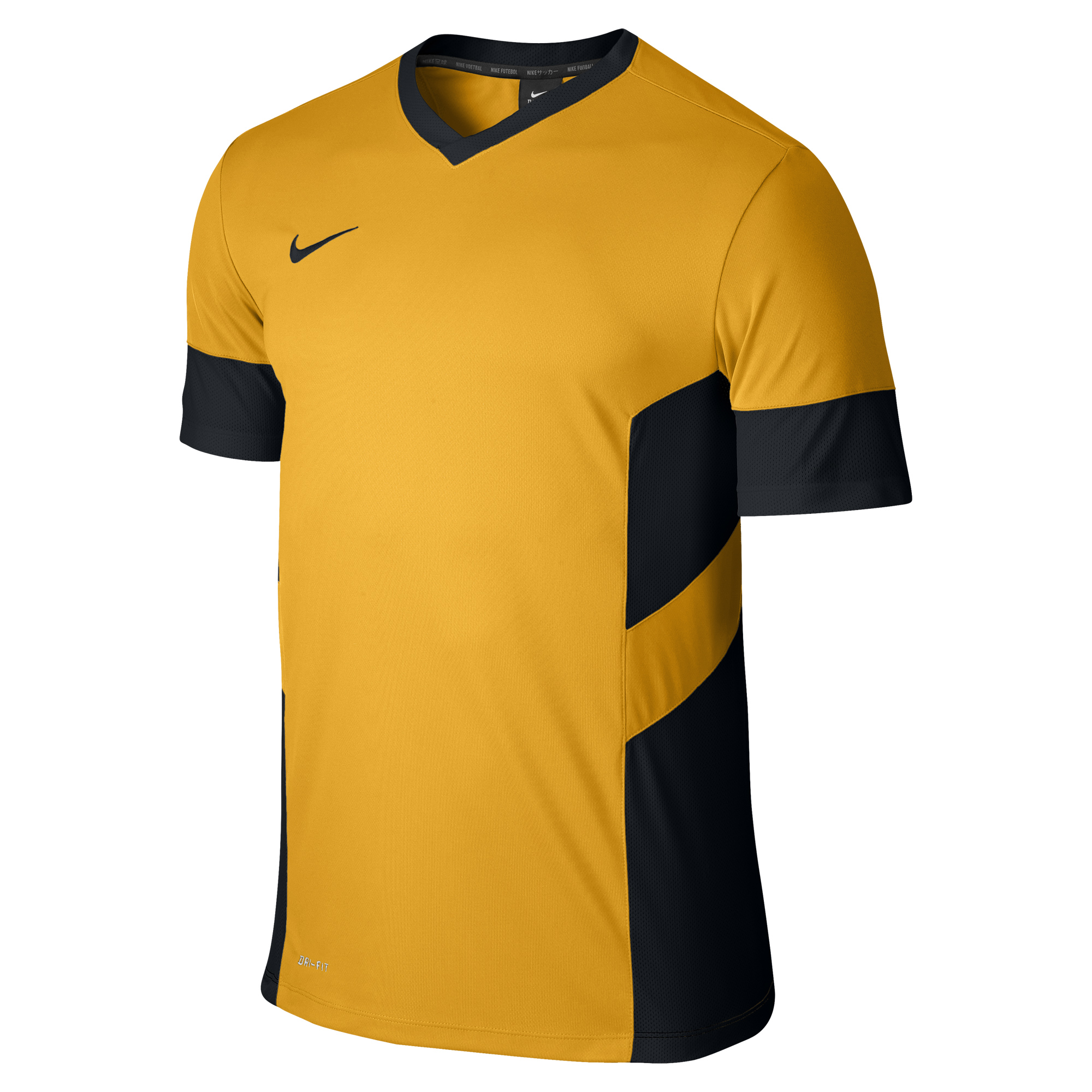 Nike - Training Top 739 University Gold/Black/ (Black)