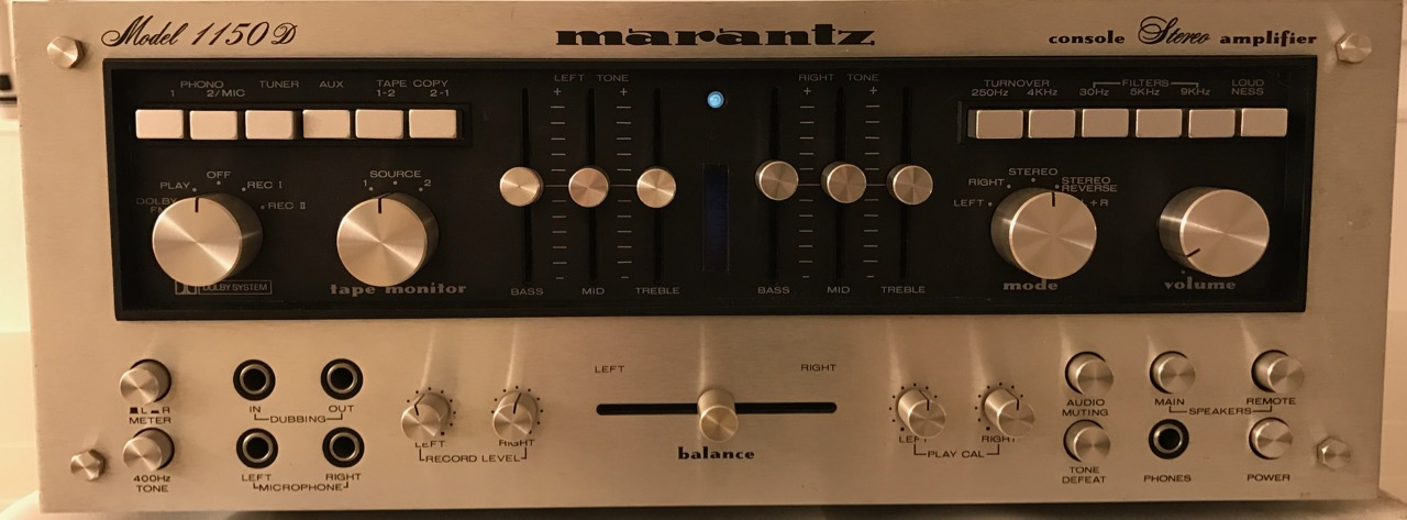 Amplifier Marantz Model 1150 D