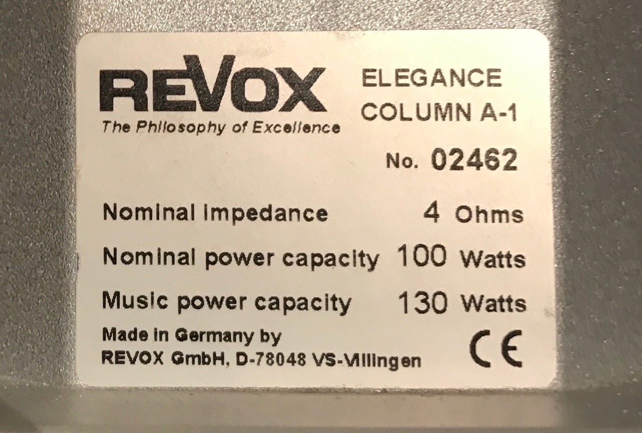 Anlage Revox Evolution