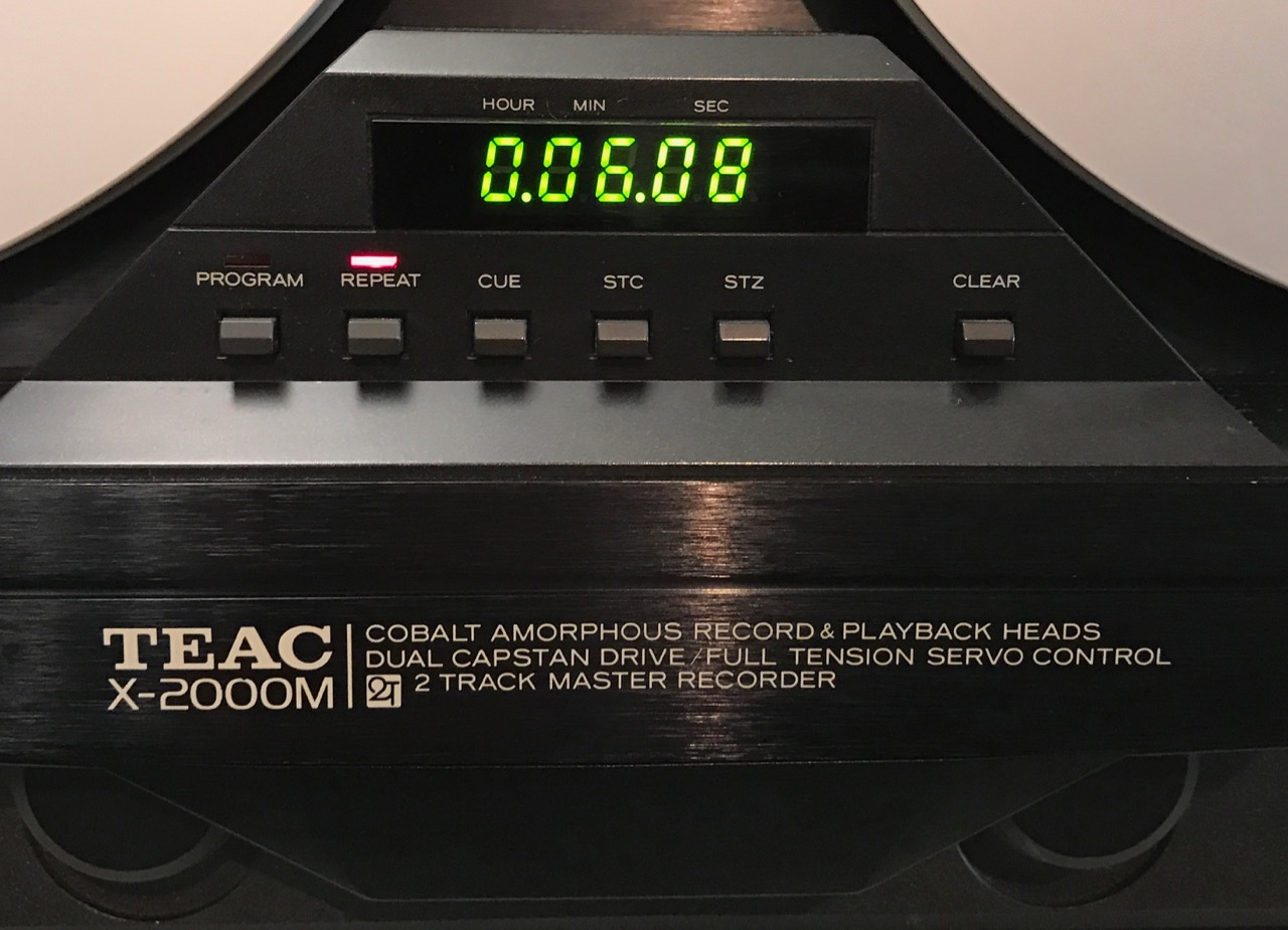 Bandmaschine TEAC X-2000M High Speed