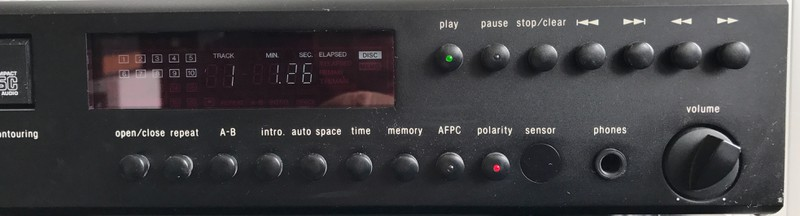 CD Player Adcom GDC-575