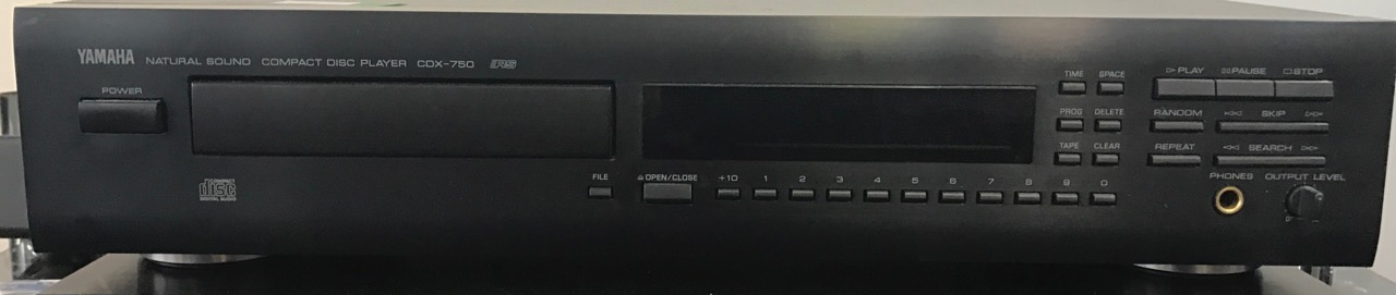CD Player Yamaha CDX-750