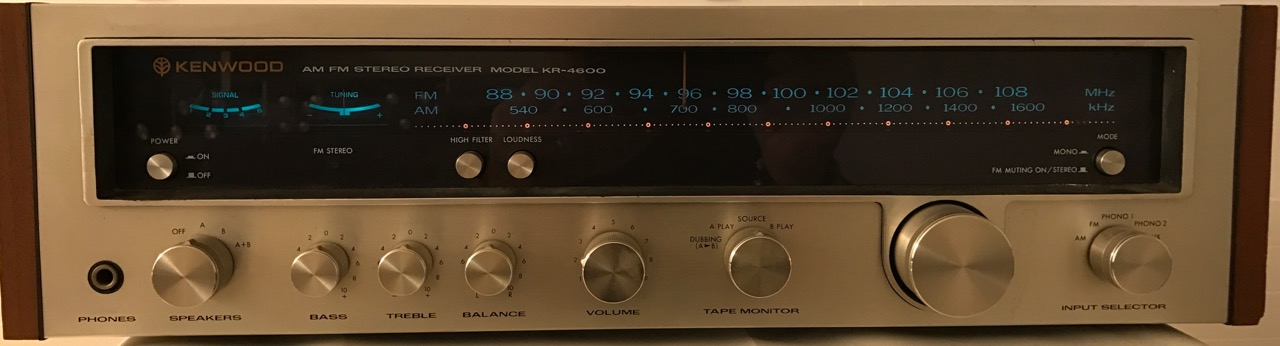 Receiver Kenwood Model KR-4600