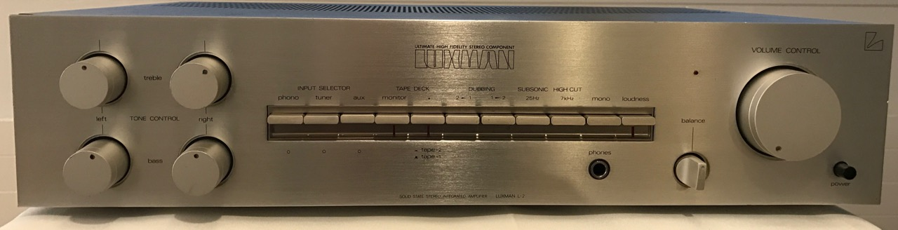 Full Amplifier Luxman L-2