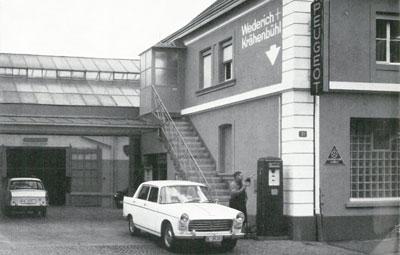 1962 Peugeot Garage in Basel