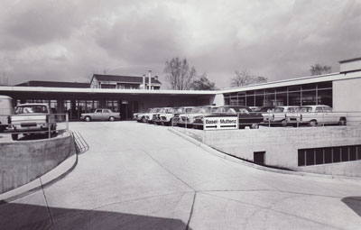 1970 Autohaus Wederich Dona AG Muttenz