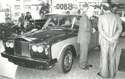 1970 Rolly-Royce Silver Shadow
