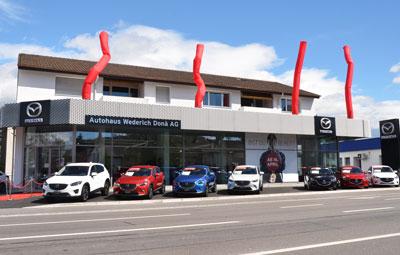 2016 Neubau Mazda Hauptvertretung Muttenz