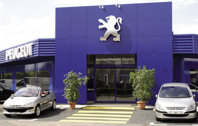 2003 Peugeot Blue-Box in Muttenz