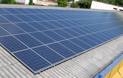 2011 Photovoltaikanlage Autogarage Muttenz