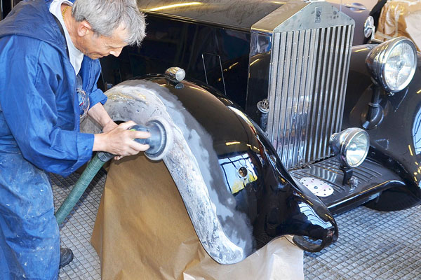 Rolls-Royce und Bentley Lackierung