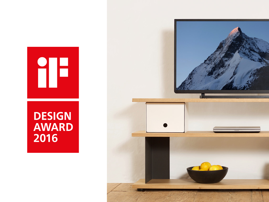 IF Design Award for the shelving system Celerina