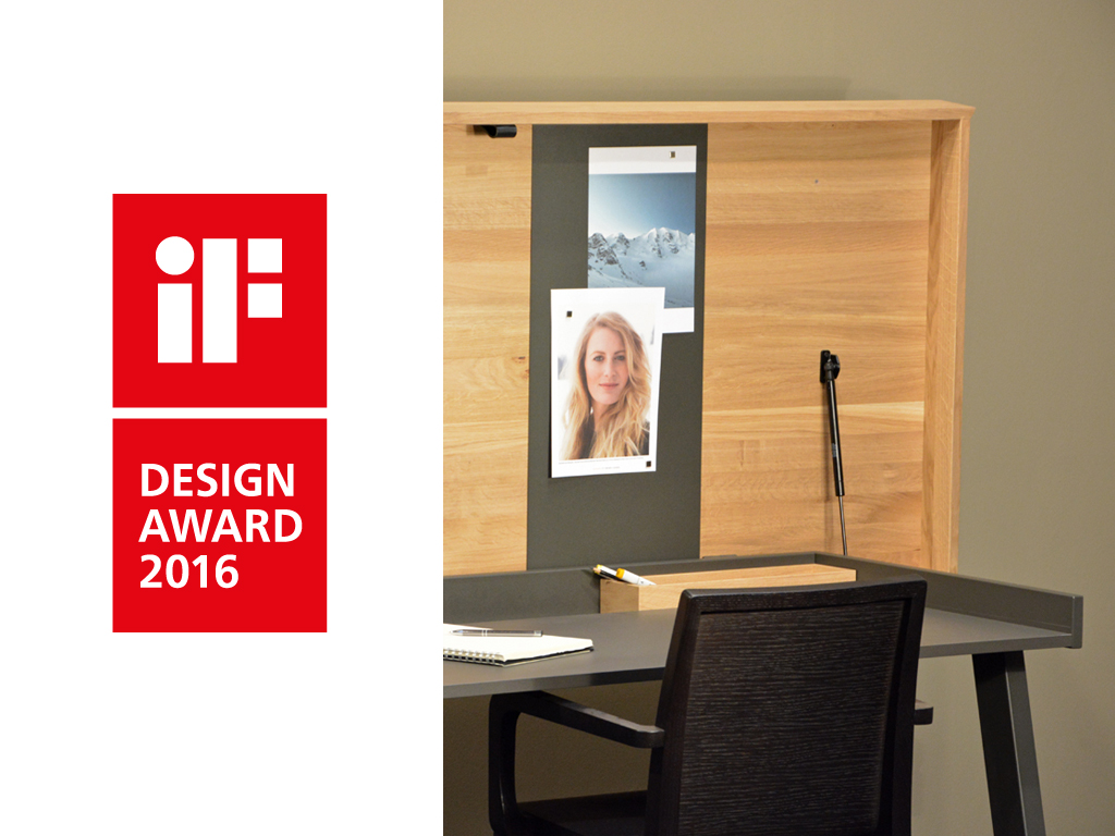IF Design Award for the dining and working table Celerina