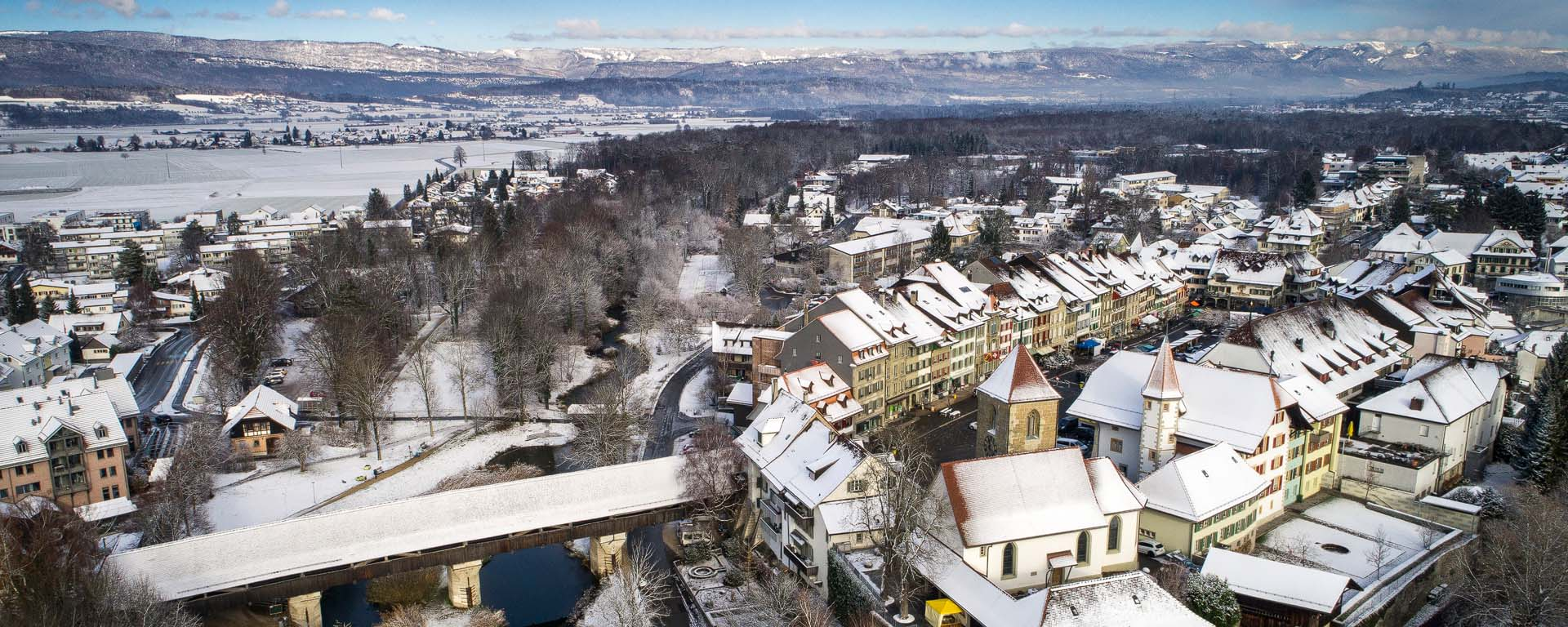 Aarberg im Winter