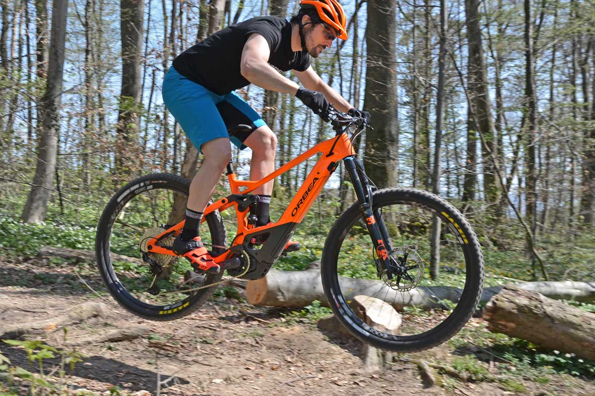 Orbea Wild FS M10 Fully - Outdoor in der Region Basel