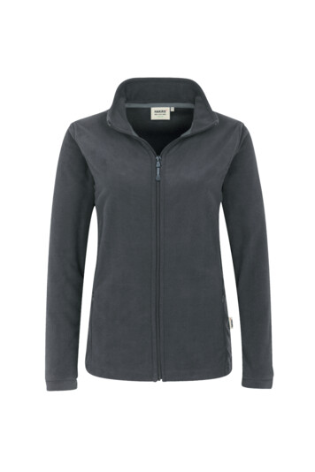 Damen Fleece Jacke HAKRO Delta 0240 Anthrazit 28