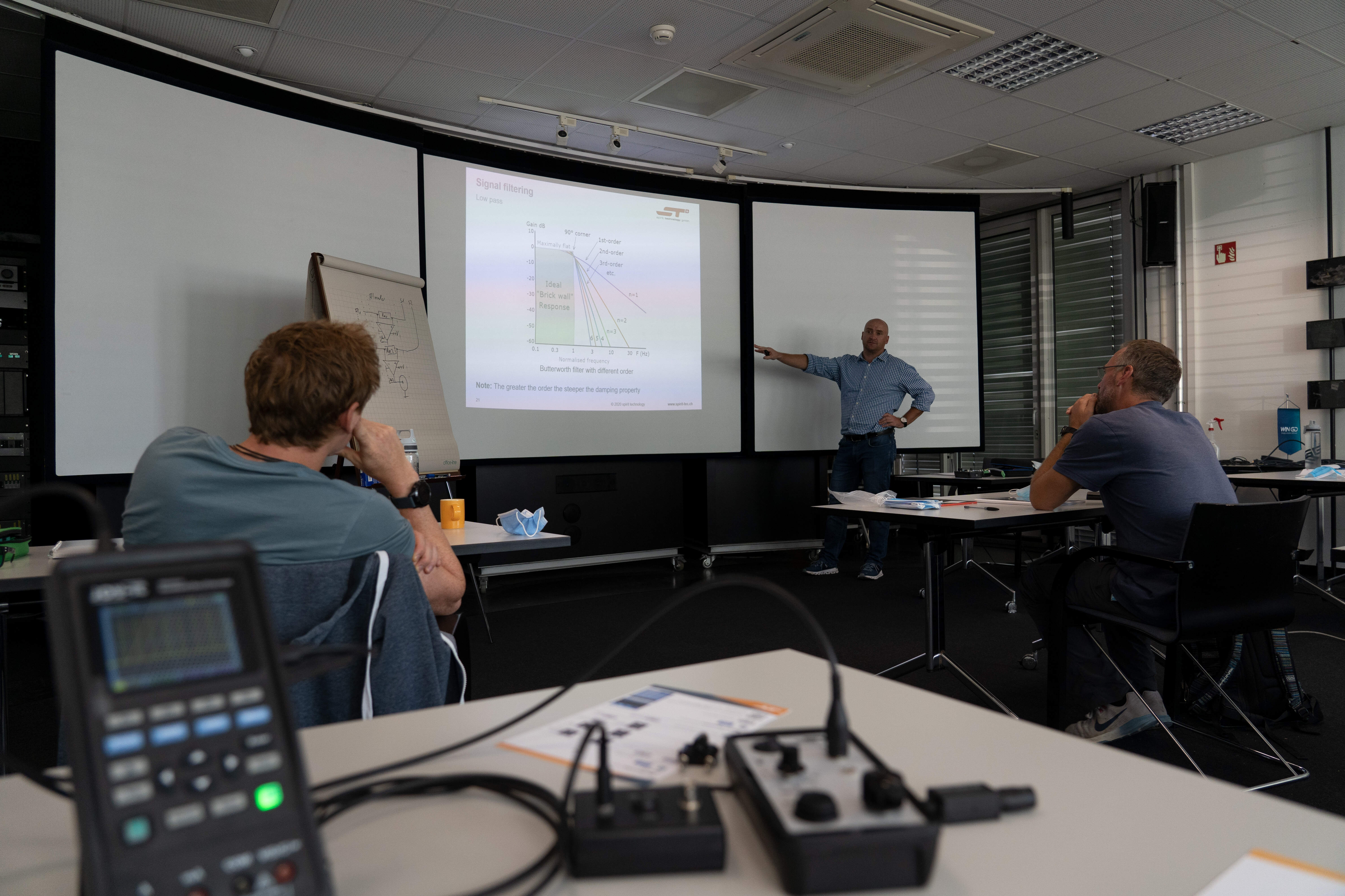 Hands-on Workshop for Marine Engine Electronics