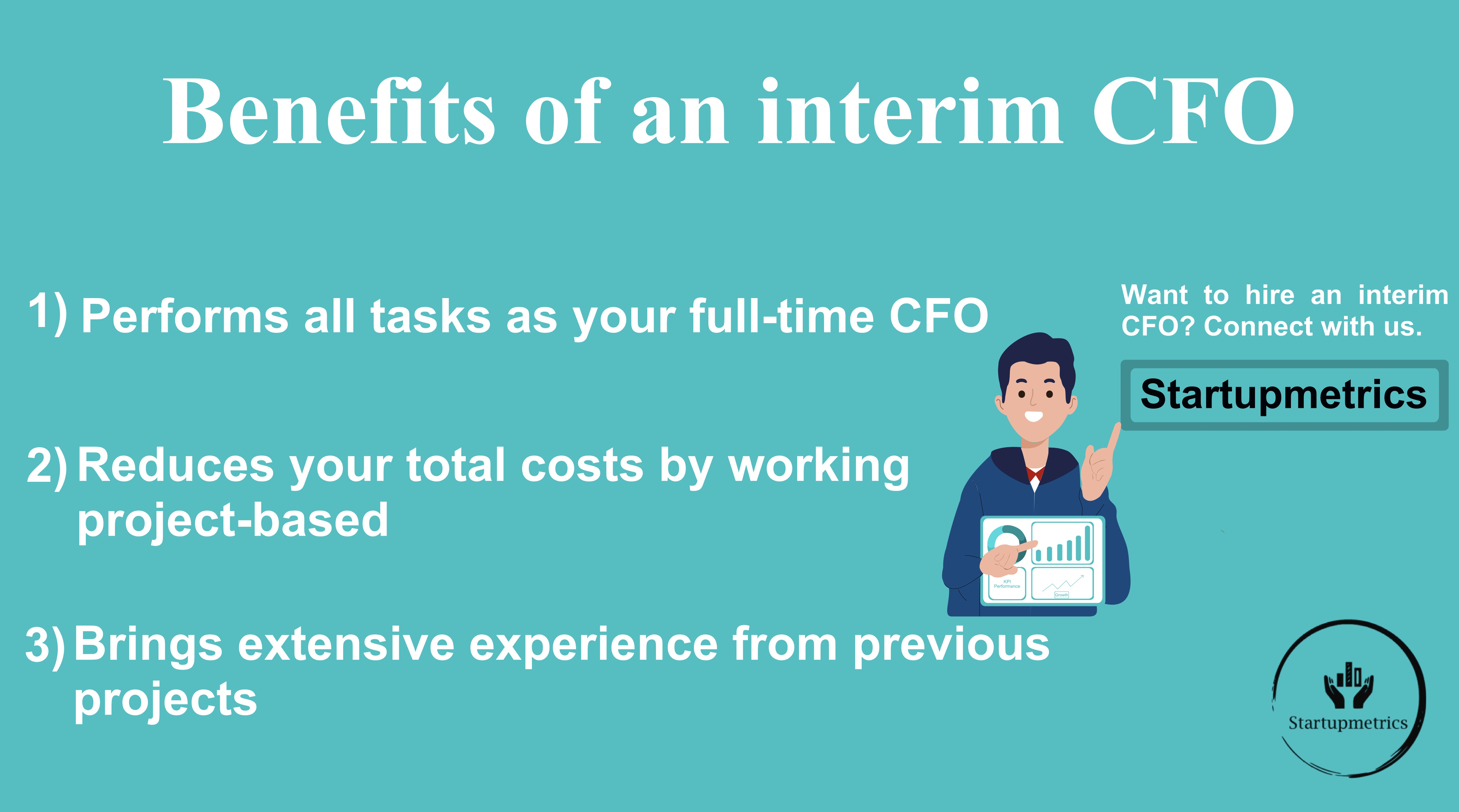 Should your Startup or Spin-off hire an interim CFO over a full-time CFO?