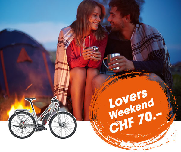 E-Bike mieten Basel - Lovers Weekend Tour