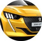 Peugeot 208 Gelb Faro