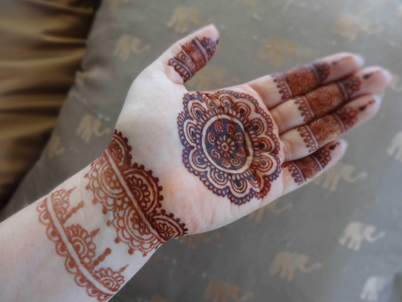 henna design fr frauen - Henna Muster Fur Anfanger